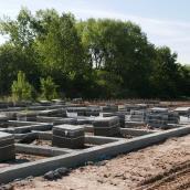 Rozpoczęto budowę garaży na działce przylegającej do Osiedla Magnolia Park