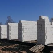 Budowa I etapu garaży na Os. Magnolia Park