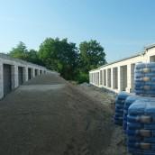Rozpoczęty II etap budowy garaży