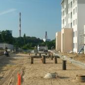 Prace wykończeniowe budynku nr 3